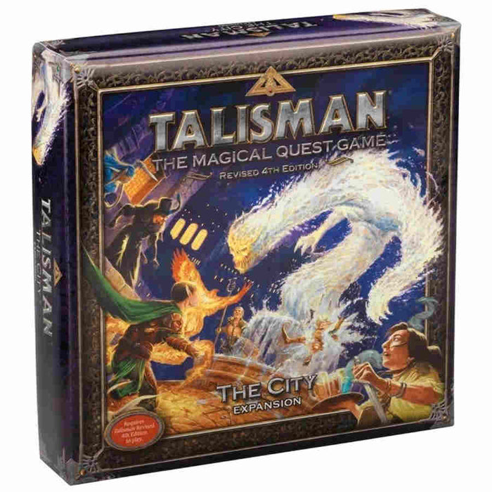 Talisman: Revised 4th Edition The City Expansion Board Game