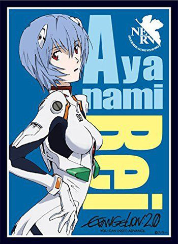Rebuild of Evangelion Rei Ayanami Character Sleeves 80CT