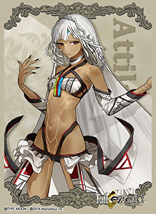 Fate/EXTELLA - Saber Altera - Character Sleeves 80CT