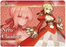 Fate/EXTELLA - Nero Claudius Red Saber - Rubber Play Mat