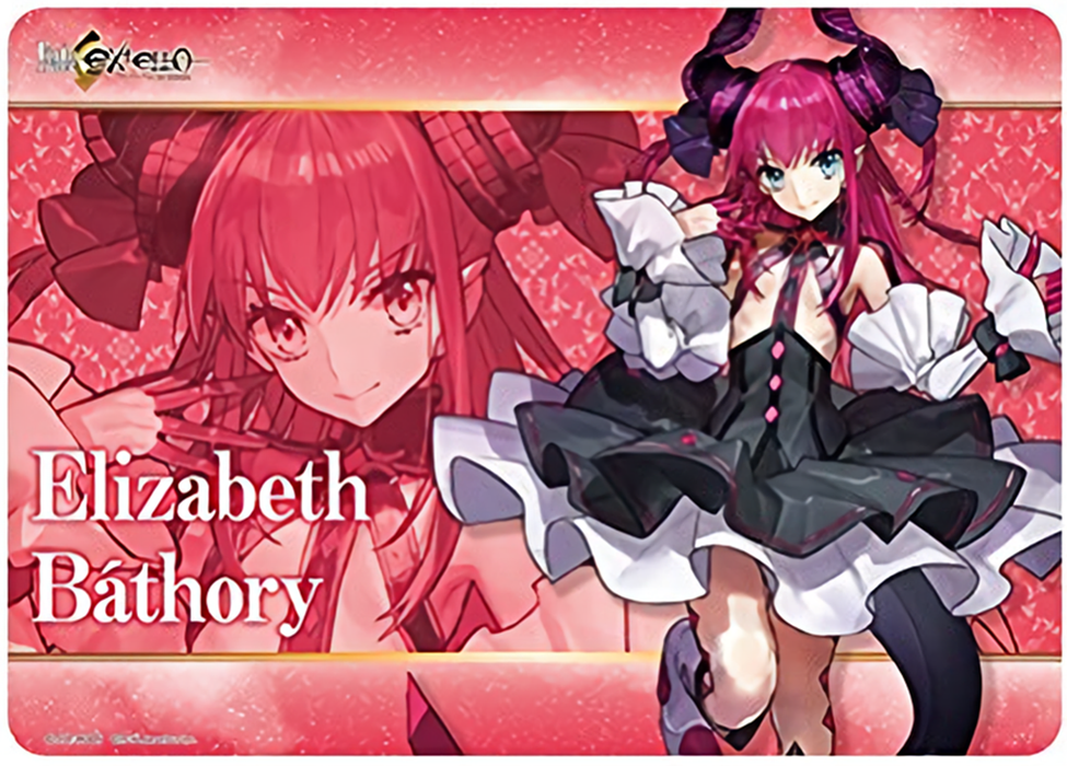 Fate/EXTELLA - Lancer Elizabeth Bathory - Rubber Play Mat
