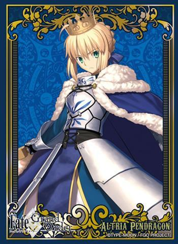 Fate/Grand Order - Saber Artoria Pendragon - Character Sleeves PG 80CT FGO