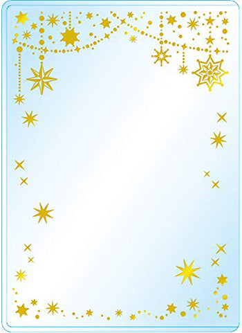 Premium Card Side Loader Guard - Shiny Star (3PCS)
