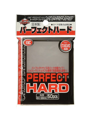 KMC Perfect Fit Hard Card Sleeves 50pcs