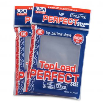 KMC Standard Sized Top Load Perfect Fit (100 COUNT) USA Limited