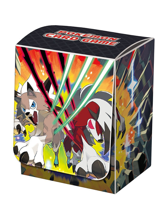 Pokemon Sun and Moon - Lycanroc - Deck Box