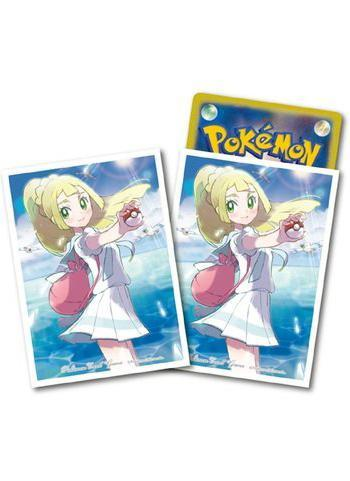 Pokemon Center Original Lillie & Wingull Character Sleeves 64pcs
