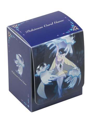 Pokemon Center Original Lusamine & Nihilego - Character Deck Box w/Dividers