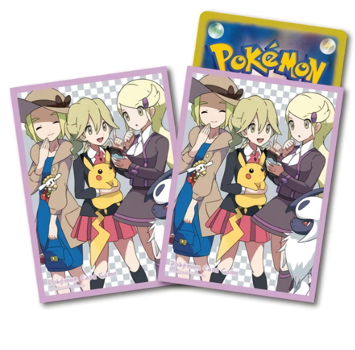 Pokemon Center Limited Kalos Girls! Character Sleeves 64pcs