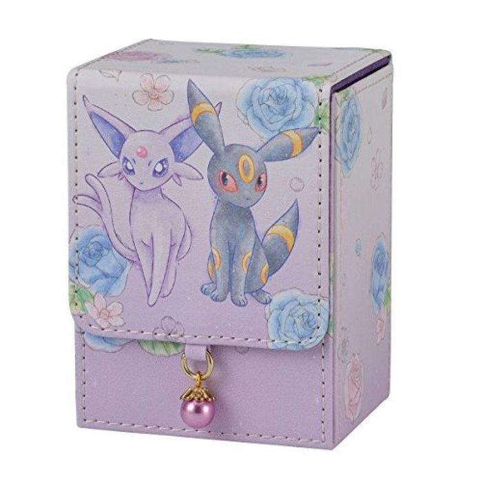 Pokemon Center Original Flower Espeon & Umbreon - Flip Deck Case