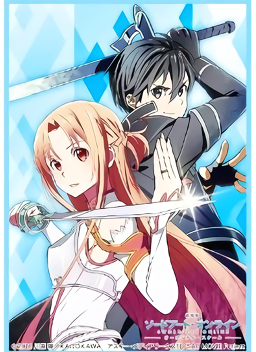 Sword Art Online Ordinal Scale - Kirito & Asuna - Sleeves HG Vol.1378 SAO
