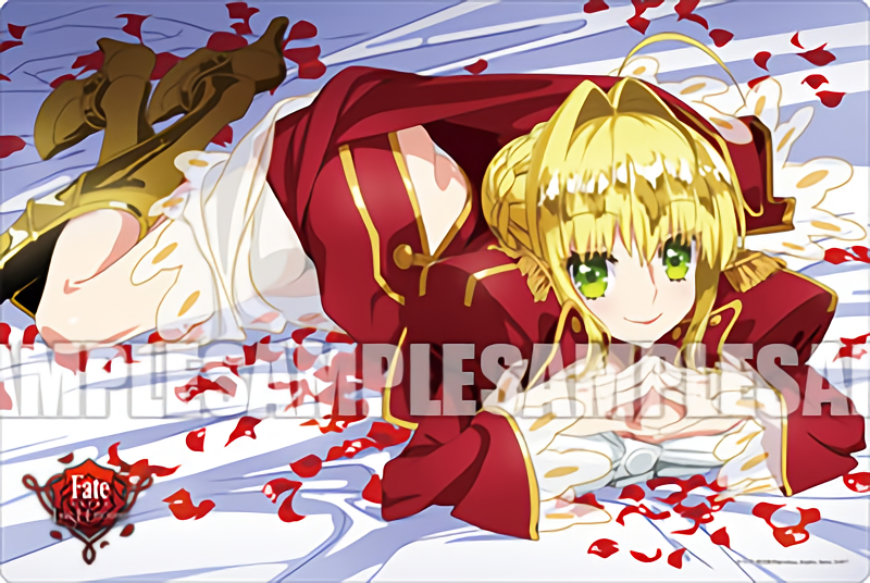 Fate/EXTRA Last Encore Nero Claudius Red Saber - Event Exclusive Rubber Play Mat Vol.109