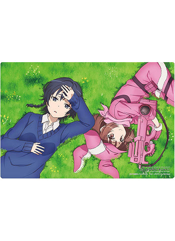 Sword Art Online GGO Alternative Llenn & Karen Rubber Play Mat Vol.218 SAO