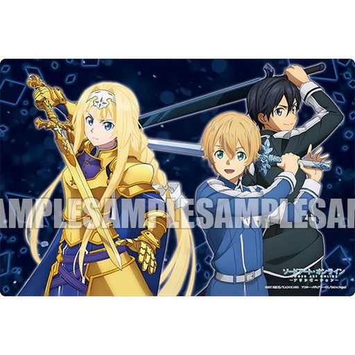 Sword Art Online SAO Eugeo, Kirito & Alice - Character Exclusive Rubber Play Mat Vol.140