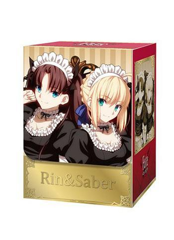 Fate/stay night Saber Altria & Rin Tohsaka - Deck Box