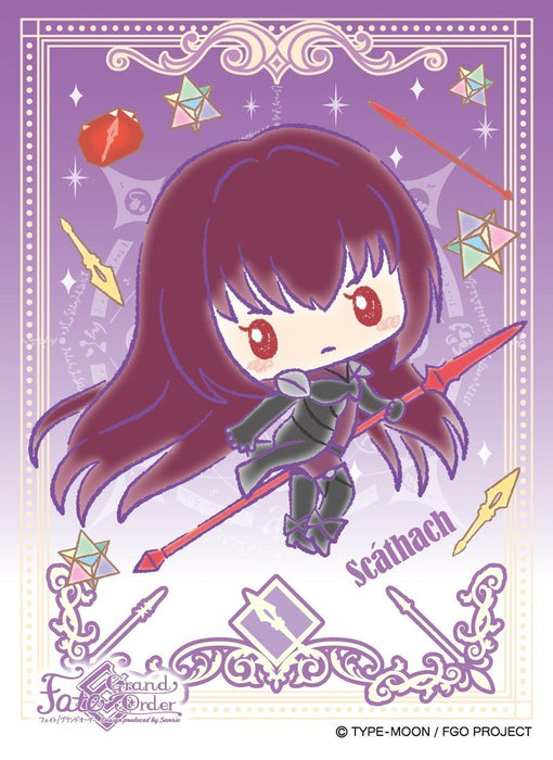 Fate Grand Order Sanrio - Lancer Shishou Scathach - Character Sleeves EN-549 FGO
