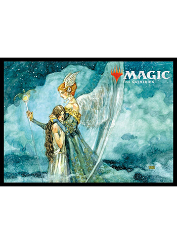 Magic The Gathering Ultimate Masters Angelic Renewal Sleeves MTGS-066