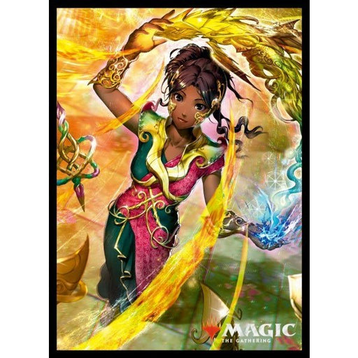 Magic The Gathering War of the Spark Saheeli, Sublime Artificer - Character Sleeves MTGS-103 80CT