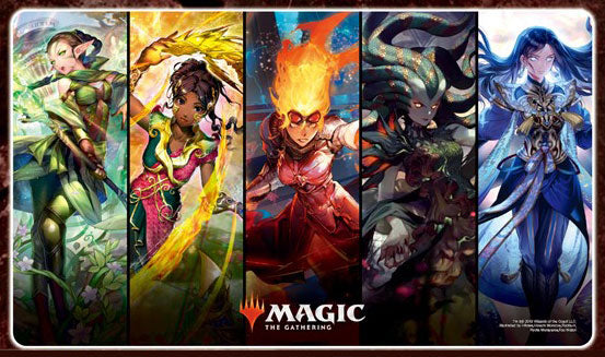 Magic The Gathering War of the Spark - Character Rubber Play Mat (A) MTGM-010
