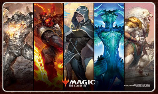 Magic The Gathering War of the Spark - Character Rubber Play Mat (B) MTGM-011