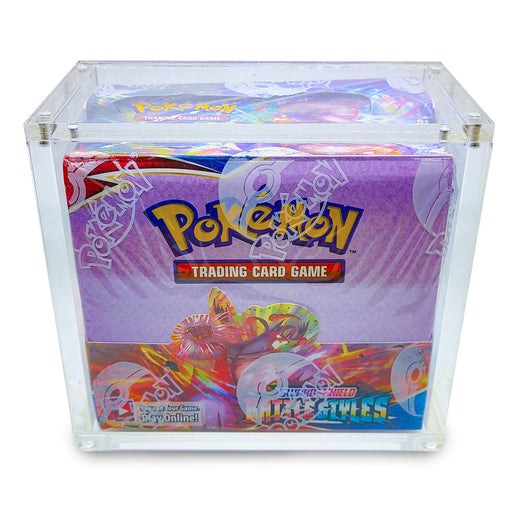 Pokemon Booster Acrylic Sealed Product Protector Box with Magnetic Sealed Lid, ETA Jun 2021
