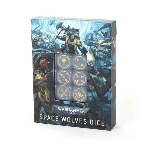 53-27 Warhammer 40,000: Space Wolves Dice Set