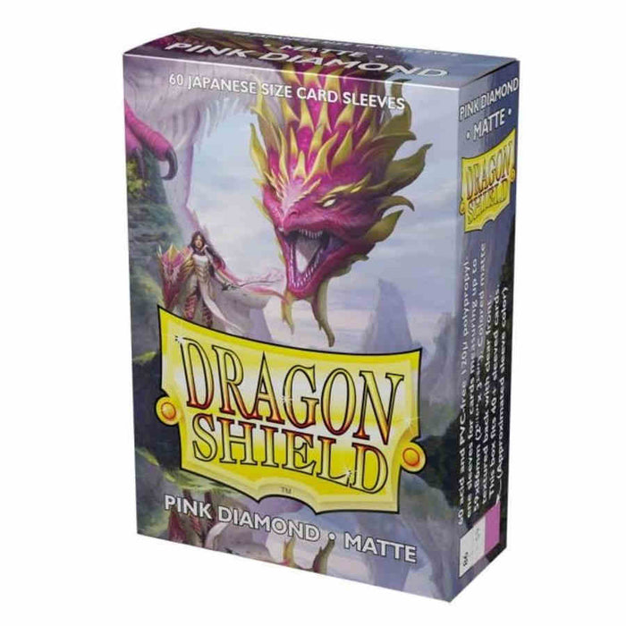 Dragon Shield: Art: Japanese - Pink Diamond - Character Matte Sleeves 60CT