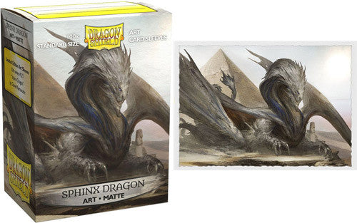 Dragon Shield: Art Matte Sleeves Sphinx Dragon (100 COUNT) Limited Edition