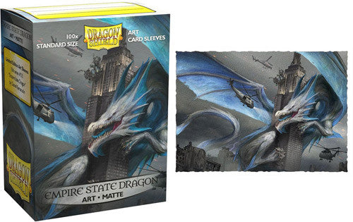 Dragon Shield: Art Matte Sleeves Empire State Dragon (100 COUNT) Limited Edition