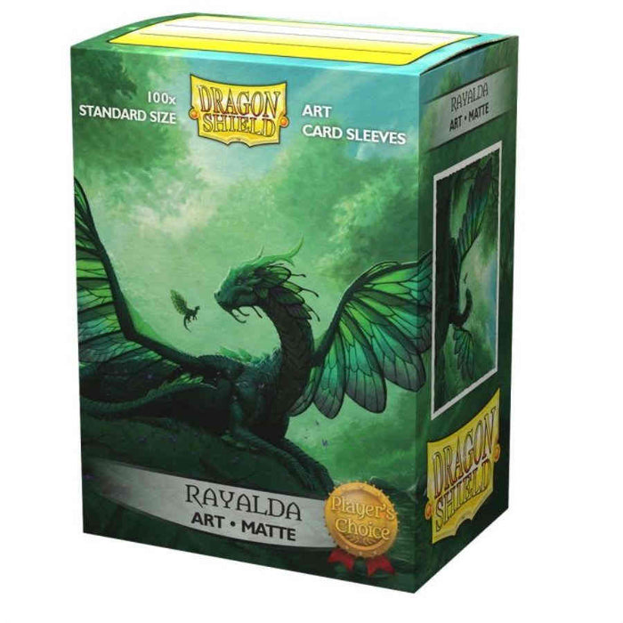 Dragon Shield Matte Art Sleeves - Rayalda