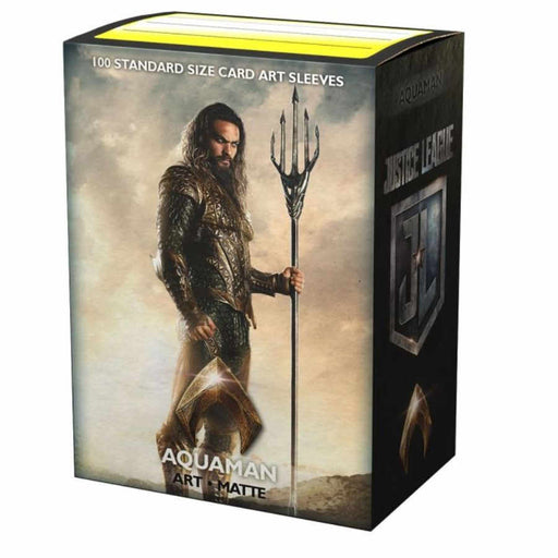 Dragon Shield Matte Art Sleeves - DC Justice League JL Aquaman (100 COUNT)