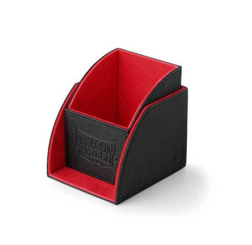 DRAGON SHIELD Nest Box Case Black & Red (115+ Cards Storage)