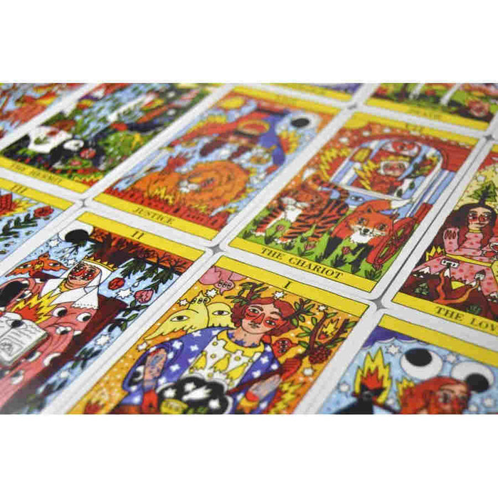 Tarot del Fuego by Ricardo Cavolo Bicycle Playing Cards