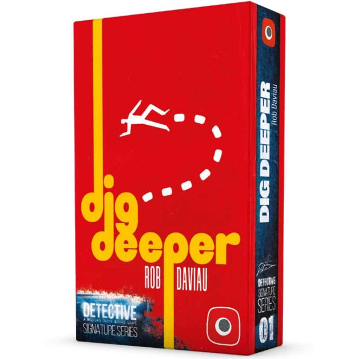 Detective: Signature Series Dig Deeper Board Game