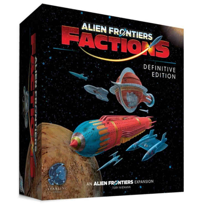 Alien Frontiers: Factions - Definitive Edition Board Game
