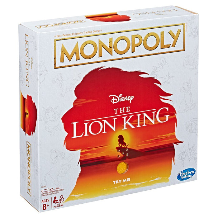 Monopoly: Lion King Board Game
