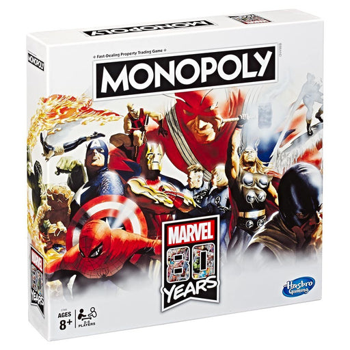 Monopoly: Marvel 80th Anniversary Edition Board Game