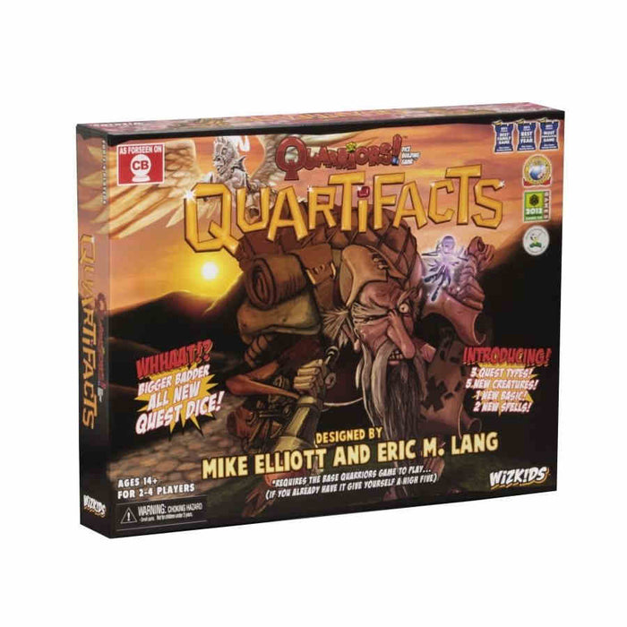 Quarriors! Quartifacts Expansion Board Game
