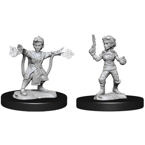 Dungeons and Dragons D&D: Nolzur's Marvelous Minis: Gnome Artificer Female W14 Miniature (Pre-order)
