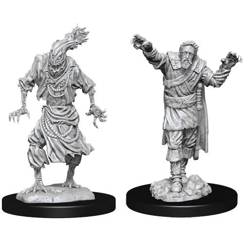 Dungeons and Dragons D&D: Nolzur's Marvelous Minis: Scarecrow & Stone Cursed W14 Miniature (Pre-order)