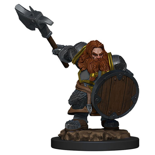 Dungeons and Dragons D&D: Icons of the Realms: Premium Figures: Dwarf Fighter Male Miniature (Pre-order) Feb 2021