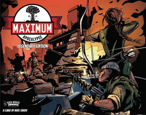 Maximum Apocalypse: Legendary Edition Board Game