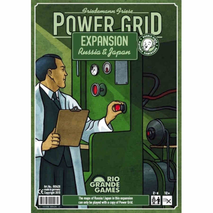 Power Grid Recharged: Russia & Japan Expansion Board Game