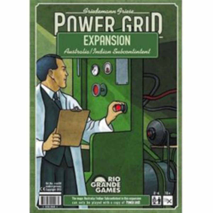 Power Grid Recharged: Australia & India Expansion Board Game
