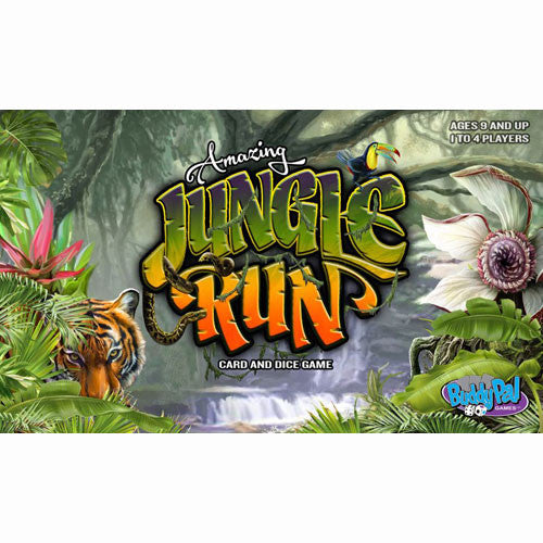 Amazing Jungle Run Board Game