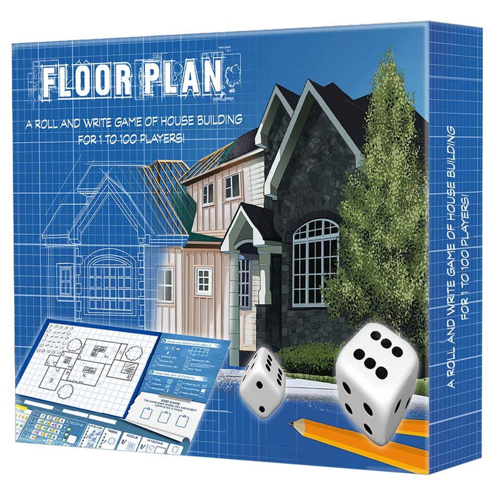Floor Plan Board Game