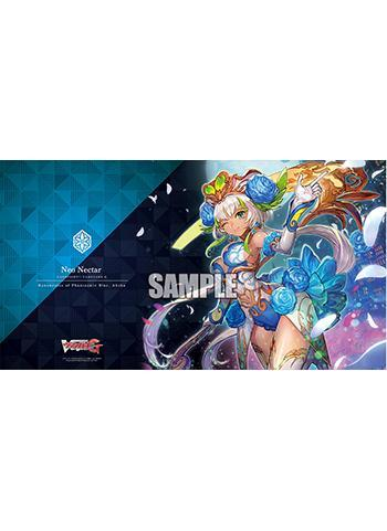 Vanguard Ahsha Ranunculus of Phantasmic Blue Event Limited Character Rubber Play Mat