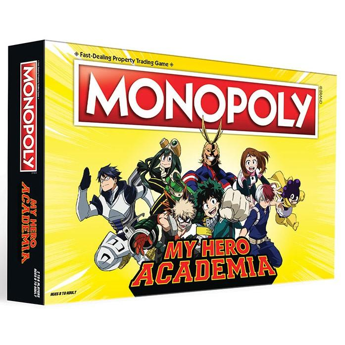 Monopoly: My Hero Academia MHA Board Game (Pre-order)