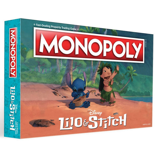 Monopoly: Disney Lilo & Stitch Board Game
