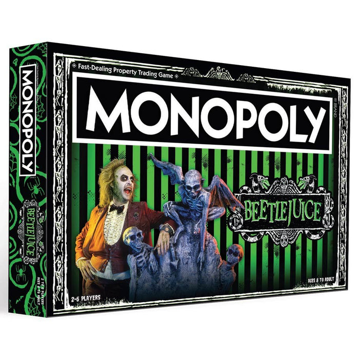 Monopoly: Beetlejuice Board Game (Pre-order) Jan 2021